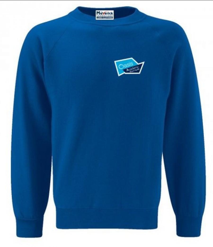 Short heath adult logo sweatshirt r muc202 oash ar for Name brand golf shirts direct
