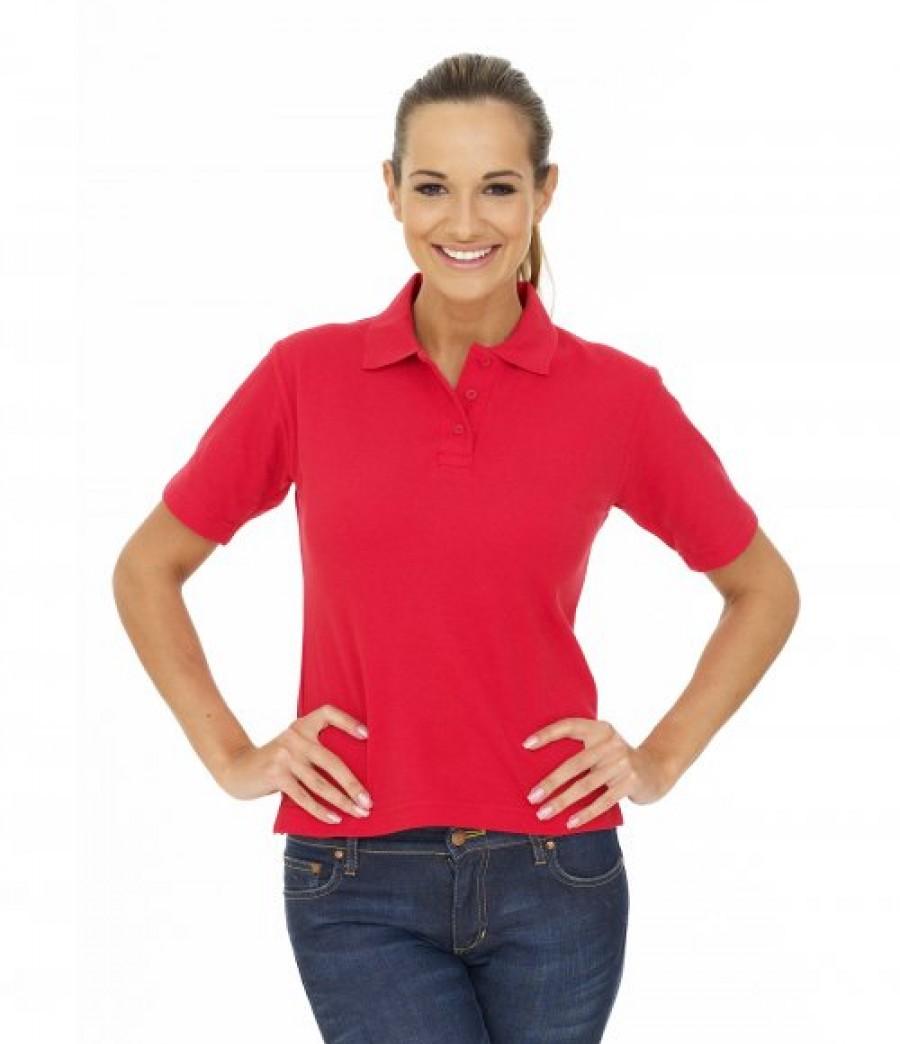 Uneek ladies pique polo shirt for Ladies pique polo shirts
