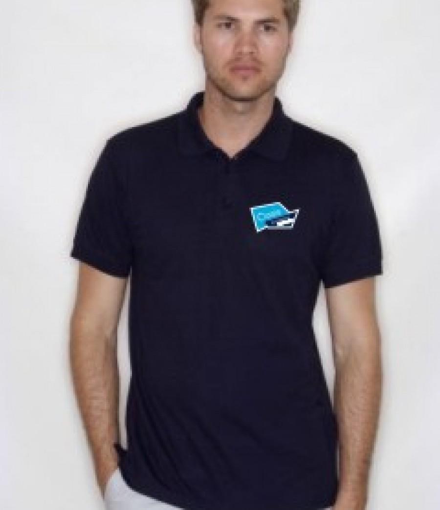 Oasis academy short heath staff polo shirt logo workwear for Name brand golf shirts direct