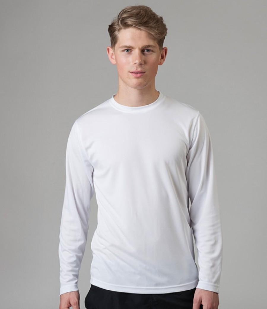 Awdis Long Sleeve Just Cool Wicking T Shirt